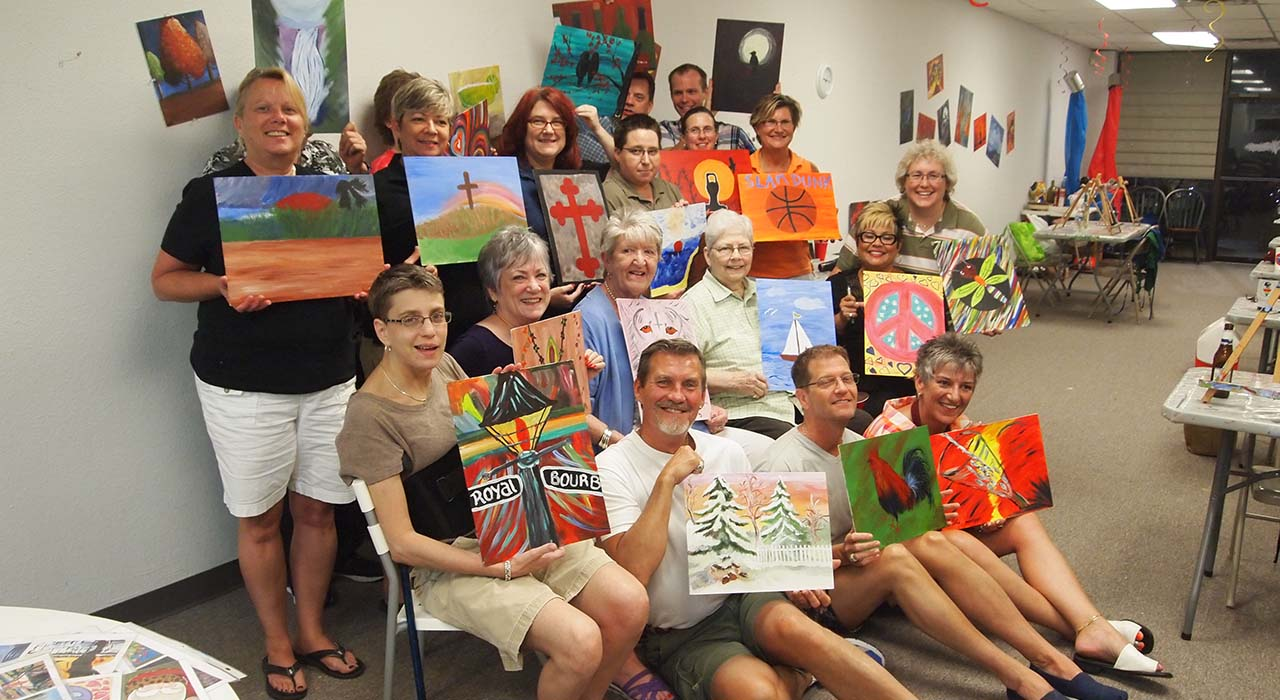 Unlock Your Inner Artist At Our BYOB Painting Class