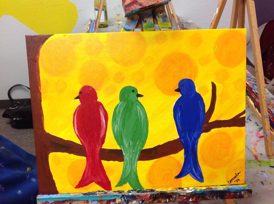 Private Painting Parties at Carefree Colors