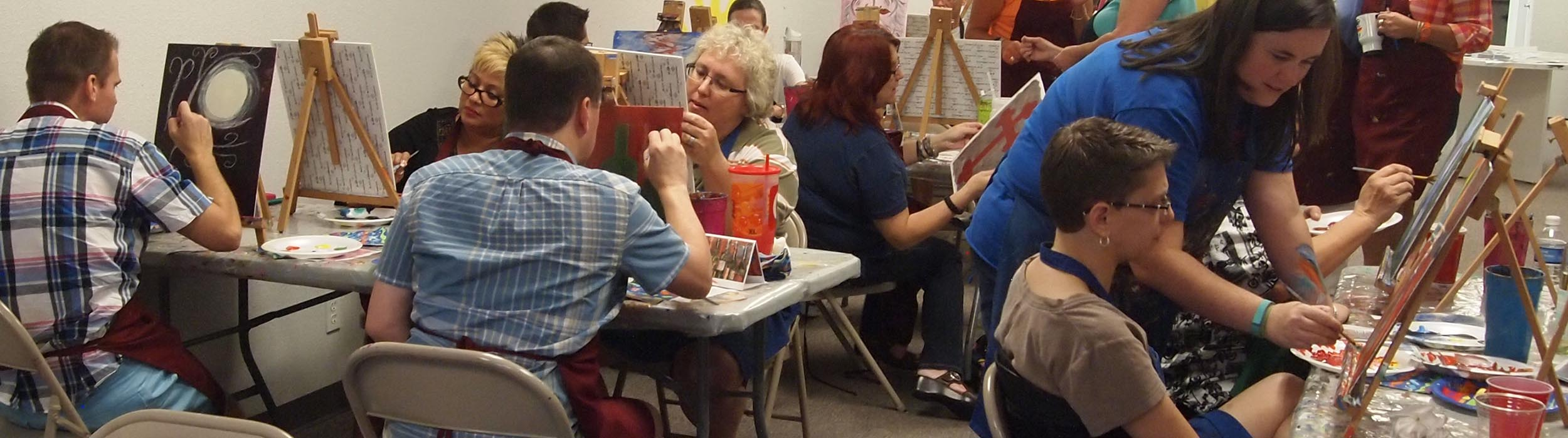 care free colors plano 39 s b y o b painting class